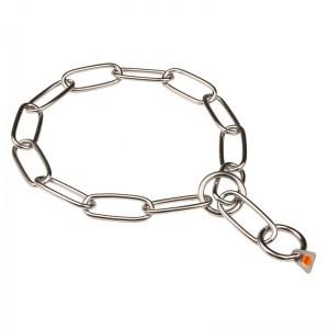 cdbe99485940 Collar ahorque canino de acero inox Control y más